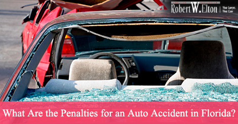 What are penalties for an auto accident in florida for Florida motor vehicle no fault law