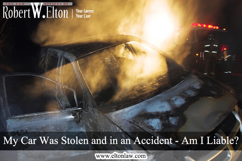 Stolen Car Accident