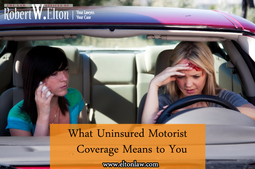 Uninsured motorist coverage means to you Uninsured motors